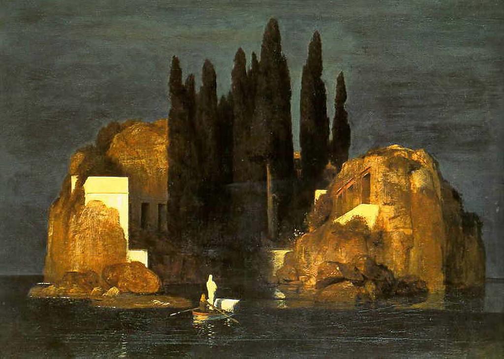 Het Dodeneiland_Arnold Bocklin 1880