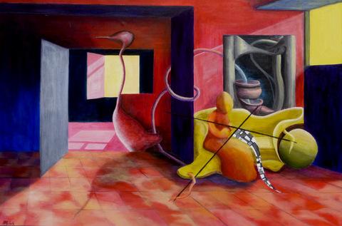 schilderij Angeli Mulders