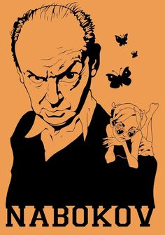 Vladimir Nabokov by Gunsmithcat on deviantART