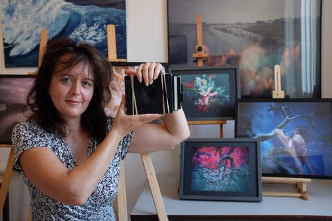 Pinhole fotografie van Katja Sobrino: schilderen met tijd enlicht