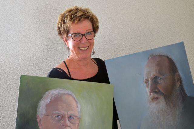 'Dita en haar Soester mannen' hangt inArtishock
