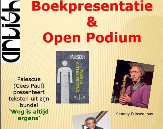 Uitnodiging: Literair-muzikale zondagmiddag inArtishock