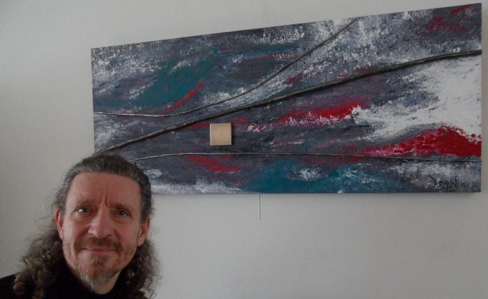 Man van staal – IJzersterk nieuw werk van Ruud Termijn inArtishock
