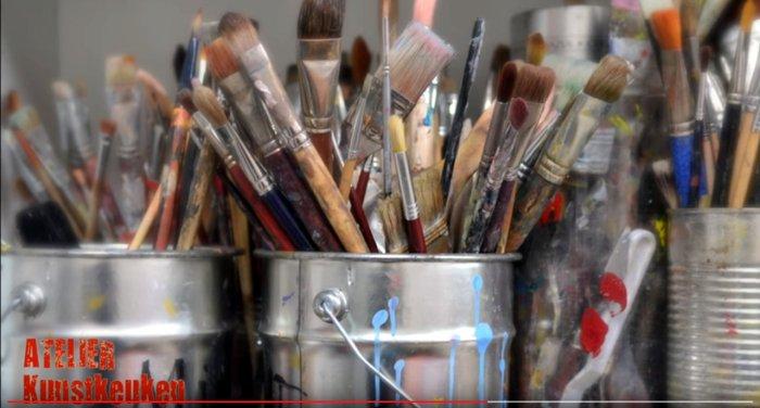 Meester en Leerling – fijnschilders uit Atelier Kunstkeuken inArtishock