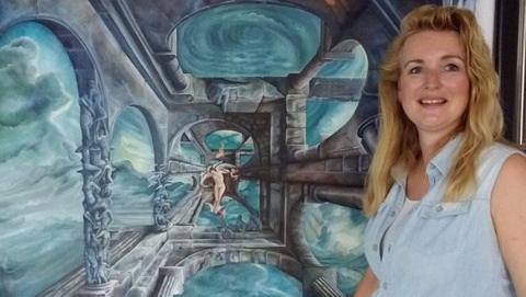 """Saskia van Dorresteyn: """"Bestaat de maan wel als niemandkijkt"""""""