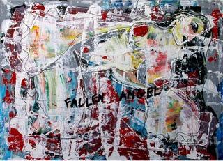 Philip schilderij Fallen Angel