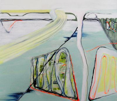 """""""Overal is een uitweg"""" – schilderijen van Ike Smitskamp inArtishock"""