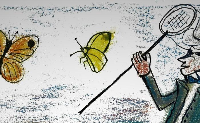 Vlinder Meester Prikkebeen
